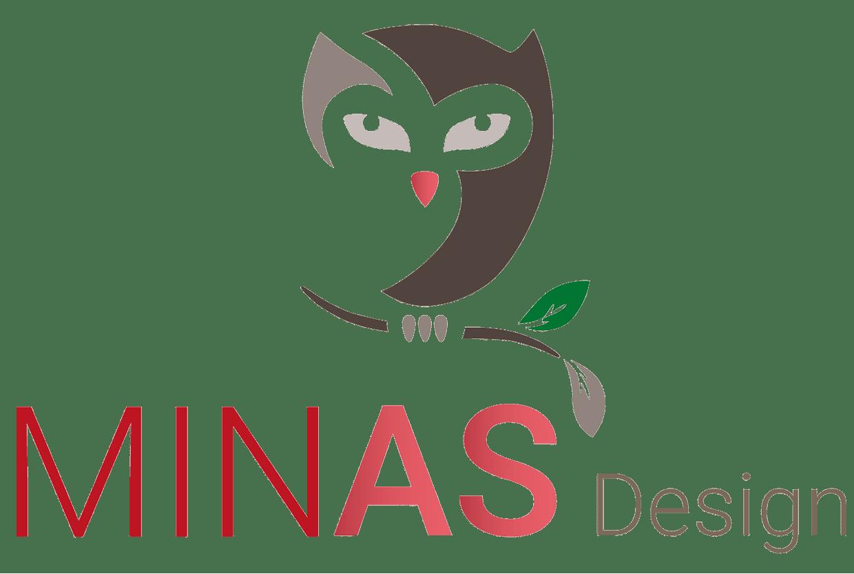 Minas Design Logo