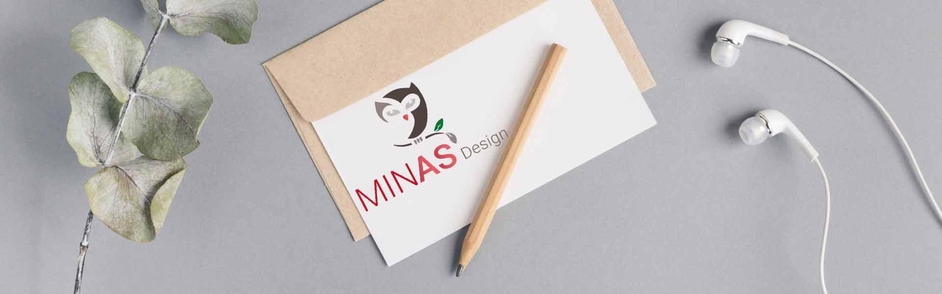 Das Logo von Minas Design