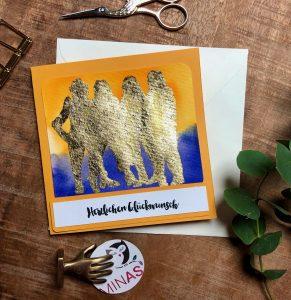 Geburtstagskarte ABBA